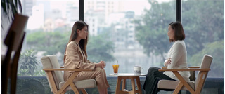 'Tình yêu và tham vọng' tập 37: Tuệ Lâm dằn mặt Linh bảo về hạnh phúc của mình