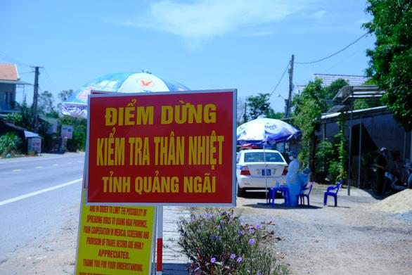 Kích hoạt lại chốt kiểm tra y tế vào cửa ngõ Quảng Ngãi