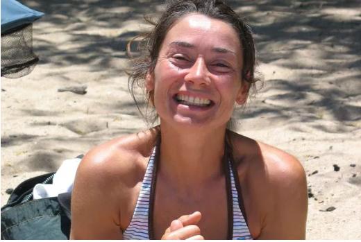 Nạn nhân Laure Bardina-Kruger bị chồng giết. Ảnh: Mirror