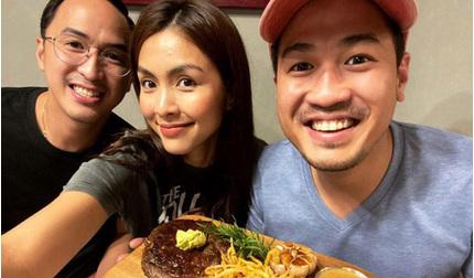 Phillip Nguyễn hào hứng khoe bữa trưa do đích thân chị dâu Hà Tăng chuẩn bị