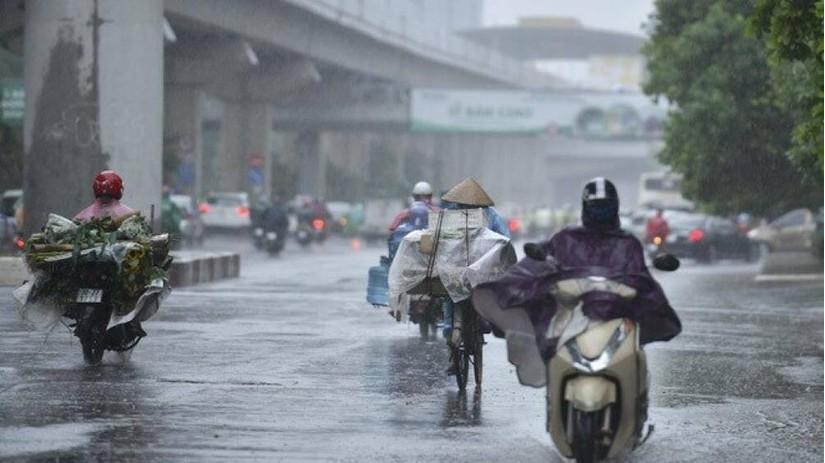 Tin tức thời tiết ngày 28/7/2020: Phía Đông Bắc bộ có nơi mưa và rải rác có dông