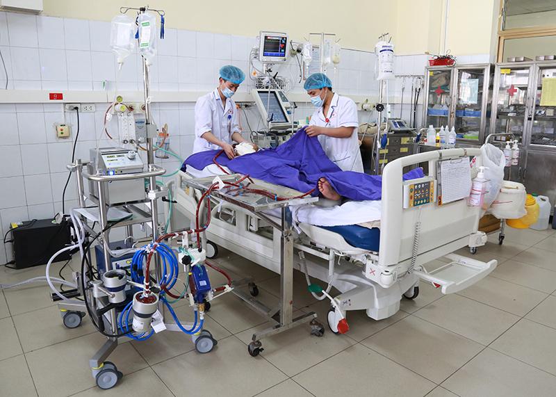 Bệnh nhân 416 tiên lượng rất nặng, nguy cơ tử vong cao