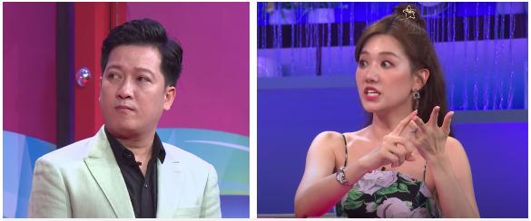 Hari Won tỏ thái độ tức giận vì câu nói đùa của Trường Giang