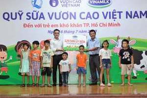 Quỹ sữa vươn cao Việt Nam và Vinamilk tiếp tục hành trình kết nối yêu thương