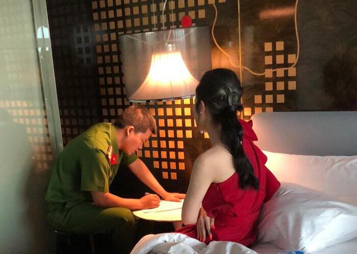 Hoa hậu Tường Linh cập nhật diễn biến xử lý vụ bị vu khống trong đường dây bán dâm, tuyên bố: Cuộc chiến còn dài