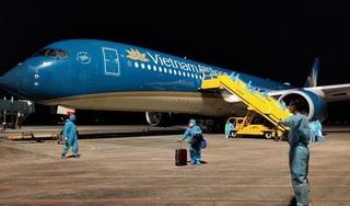 Sân bay Vân Đồn đón 276 công dân Việt Nam trở về từ Mỹ