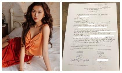 Hoa hậu Tường Linh cập nhật tình hình kiện tụng vụ bị vu khống trong đường dây bán dâm