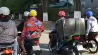 Danh tính nhóm đối tượng chở loa kẹo kéo hát hò náo loạn đường phố Bạc Liêu