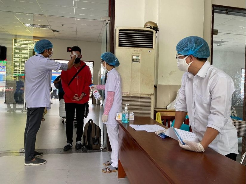 4 trường hợp từ Đà Nẵng về Đồng Nai có biểu hiện ho, sốt, khó thở nhẹ