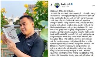 Bị lợi dụng hình ảnh để bán thuốc, MC Quyền Linh cùng luật sư vào cuộc