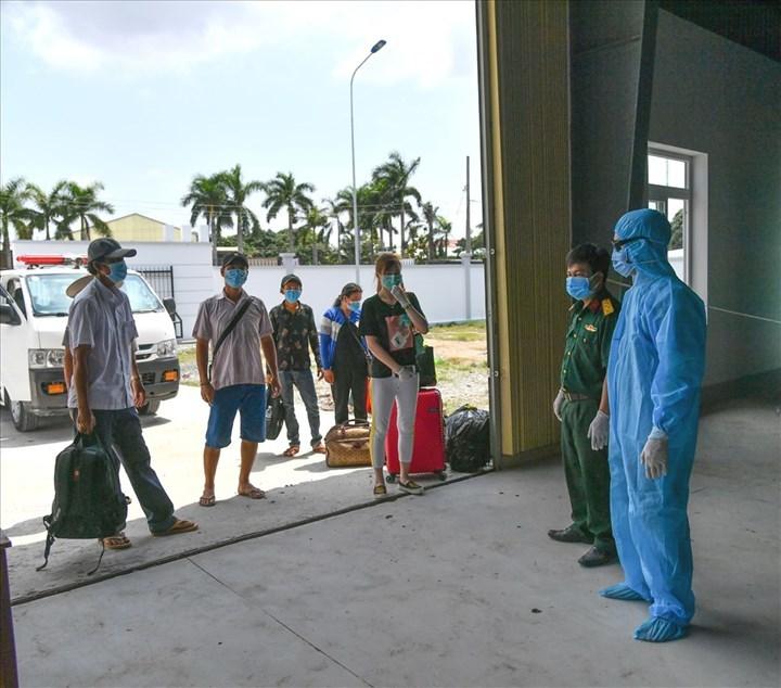 6 người vượt biên trái phép từ Campuchia đã bị phát hiện