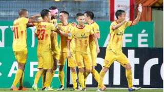 Bất ngờ với chỉ số thống kê về CLB Nam Định sau vòng 11 V.League