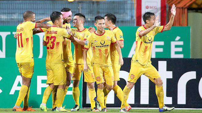 chỉ số thống kê về CLB Nam Định sau vòng 11 V.League