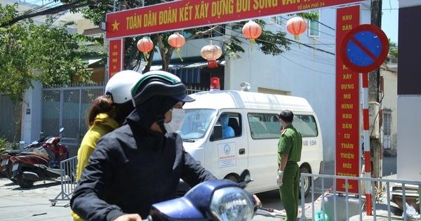 Đà Nẵng cách ly một tuyến đường ở Sơn Trà liên quan đến bệnh nhân 434 và 435