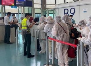 230 công dân Việt Nam tại Đài Loan về nước an toàn