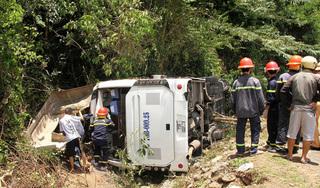 Thông tin mới nhất về các nạn nhân bị thương trong vụ lật xe ở Quảng Bình