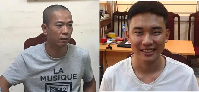 Danh tính 2 hung thủ nổ súng cướp ngân hàng BIDV ở Hà Nội vừa bị bắt
