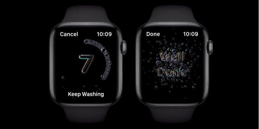 Apple bổ sung tính năng nhắc nhở rửa tay trên Apple Watch