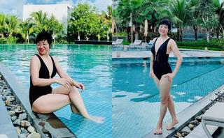 MC Thảo Vân đăng ảnh bikini, bạn gái Công Lý có hành động bất ngờ