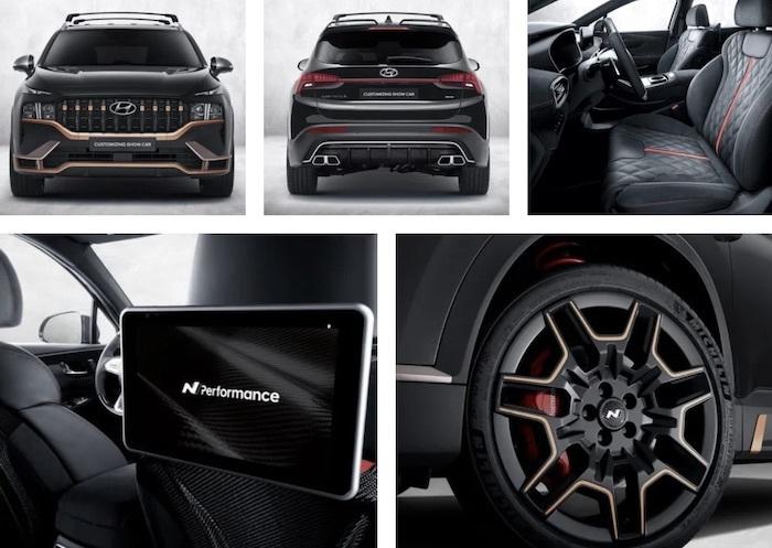 Lộ diện Hyundai Santa Fe bản thể thao N Performance