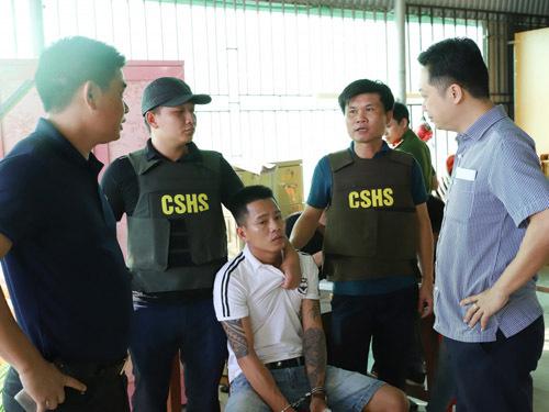 Trần Đại Nghĩa được xác định là đối tượng cầm đầu băng nhóm (ảnh Công an Hà Tĩnh)