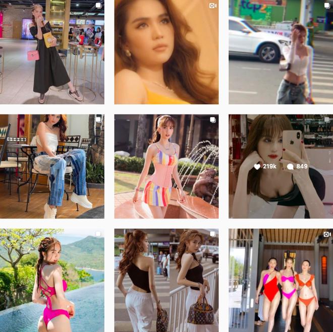 Ngọc Trinh 'vượt mặt' Chi Pu, chạm ngưỡng 4,8 triệu follow trên Instagram