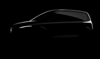Mercedes cho ra đời xe MPV mới: T-class