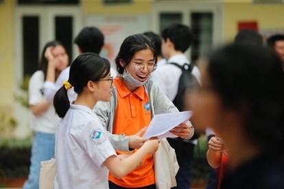 Chiều nay Hà Nội công bố điểm thi và điểm chuẩn vào lớp 10