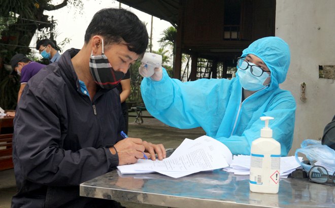 Đã có kết quả xét nghiệm hơn 1.000 người từ Đà Nẵng về Yên Bái