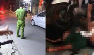 Mâu thuẫn tình cảm, cô gái bị bạn trai đâm gục giữa đường