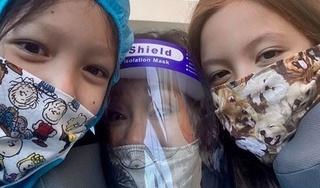 Diva Hồng Nhung cùng 2 con về Việt Nam sau 5 tháng kẹt ở Mỹ vì dịch