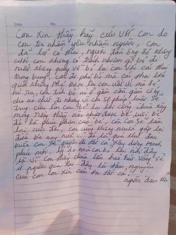 Bé trai sơ sinh bị bỏ rơi ở cổng chùa kèm lá thư của mẹ
