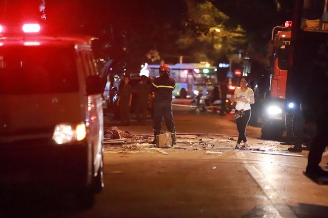 Hà Nội: Sập giàn giáo tại một căn nhà 7 tầng nhiều người bị thương