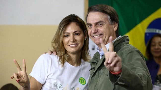 Đệ nhất phu nhân Brazil dương tính với Covid-19