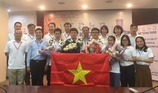Lần đầu tiên cả 4 học sinh Việt Nam đoạt Huy chương vàng Olympic hóa học quốc tế