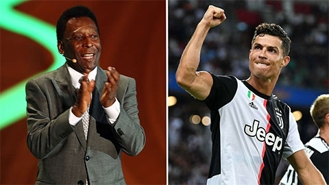 """Vua bóng đá"" Pele hết lời ngợi khen Ronaldo"