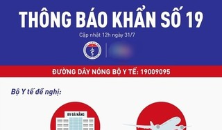 Bộ Y tế thông báo khẩn về chuyến bay VN166 Đà Nẵng- Hà Nội