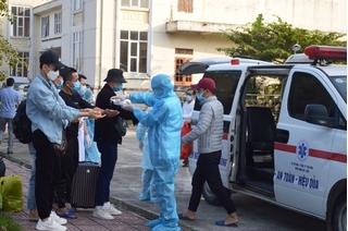 Thái Bình có hơn 1.700 người về từ Đà Nẵng