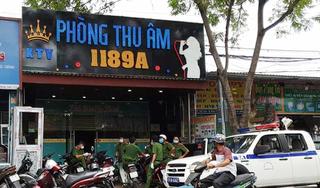 Phát hiện 28 người Trung Quốc trốn trong phòng thu âm tại TP.HCM