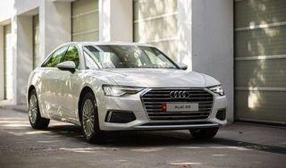 Cận cảnh Audi A6 thế hệ thứ 8 vừa xuất hiện ở Việt Nam