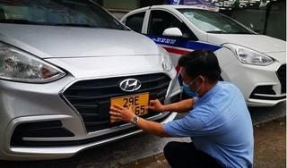 Gần 90 xe taxi, xe công nghệ trên toàn quốc được cấp biển số vàng