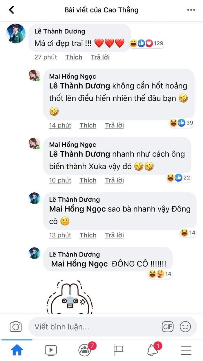 Ông Cao Thắng đổi avatar, Ngô Kiến Huy xuýt xoa khiến Đông Nhi lập tức đáp trả