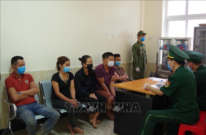 Lạng Sơn bắt 6 đối tượng nhập cảnh trái phép
