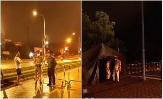 Hà Nam: 5 chốt phong tỏa dựng lên lúc 12h đêm nơi BN620 sinh sống