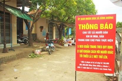 Cách ly gần 1.000 người liên quan đến bệnh nhân 621 ở Quảng Ngãi