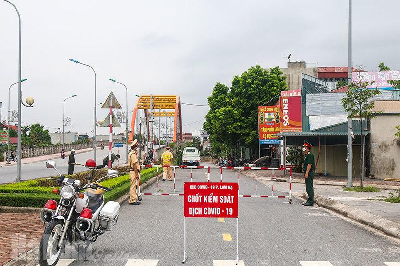 Hà Nam tiến hành cách ly y tế 1 tháng đối với  01 cụm dân cư