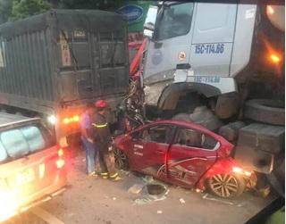Kết quả kiểm tra nồng độ cồn tài xế container đè nát xe con khiến 3 người chết