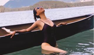 MC Nguyễn Cao Kỳ Duyên khoe ảnh mặc bikini ở tuổi 55