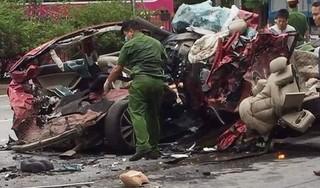 Vụ container đè bẹp xe con làm 3 người chết: Các nạn nhân trên đường đi lễ về