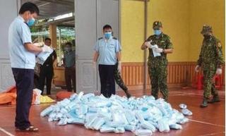 Bắt quả tang hàng chục nghìn khẩu trang nhập lậu ở Lạng Sơn